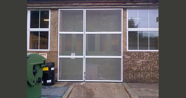 Commercial Fly Screen Doors Industrial Fly Screen Doors