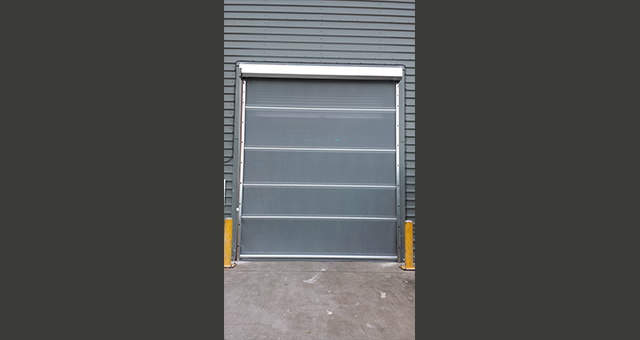 Industrial roller mesh door chain operated mesh shutter for Roller fly screens for doors