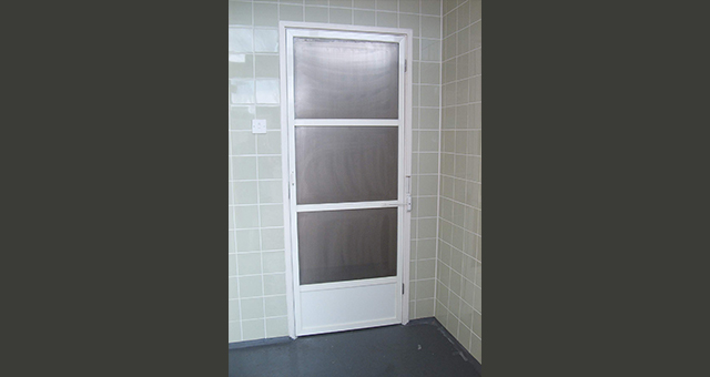 Industrial Fly Screen Door Stainless Steel Fly Screen Door