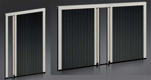pleated screens