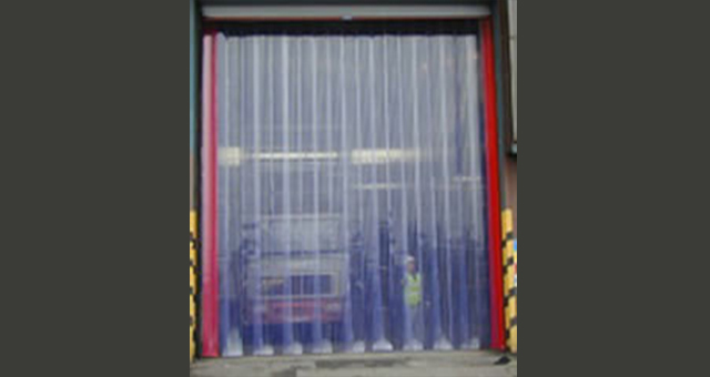 pvc curtain door