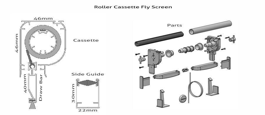 measure fly screens